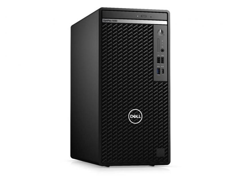 Desktop Dell Optiplex 5080 MT i7-10700/8GB/256GBSSD/W10P/5Y