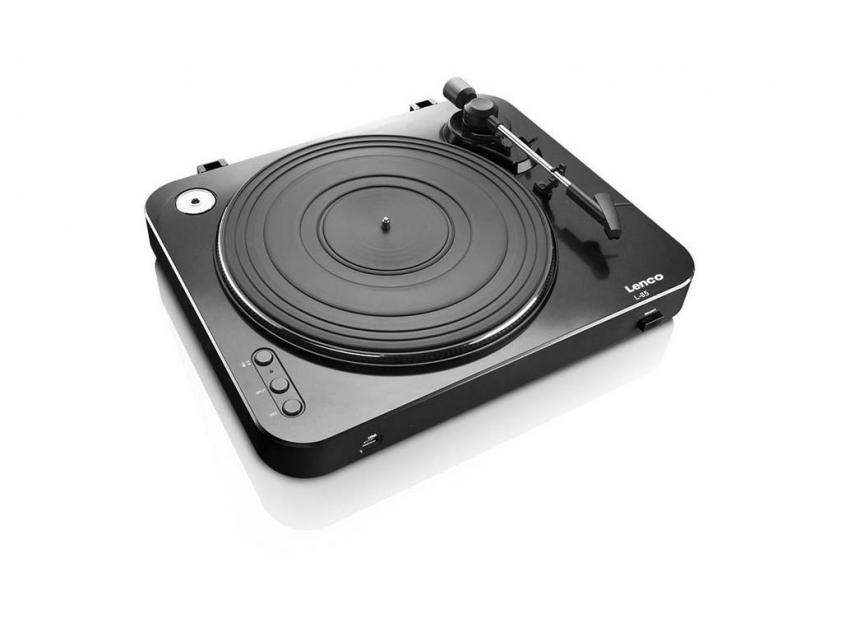 Pickup Player Lenco Turntable L-85 Black (LEN-L85BLA)