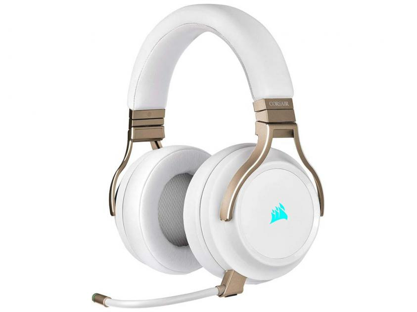 Gaming Headset Corsair Virtuoso Pearl Wireless (CA-9011224-EU)