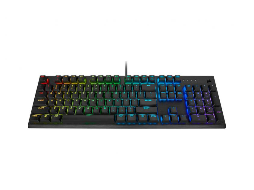 Gaming Keyboard Corsair K60 Pro RGB Cherry MX Red Low Profile GR Layout (CH-910D018-GR2)