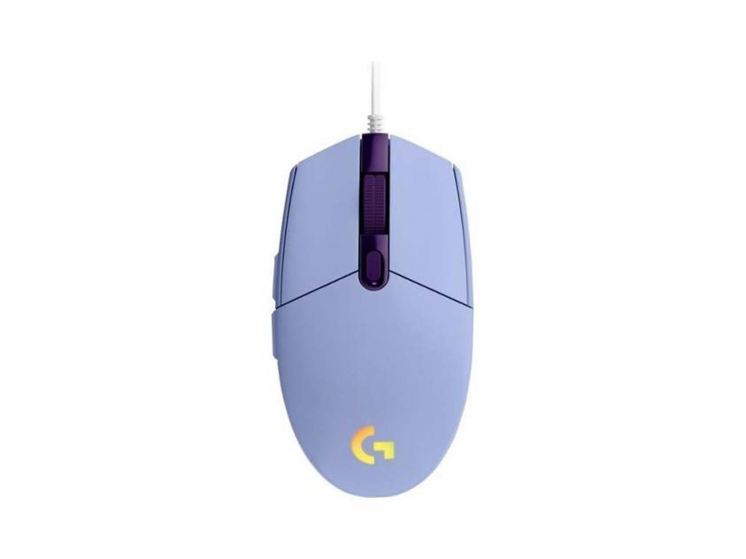 Gaming Mouse Logitech G102 Lightsync Lilac (910-005854)