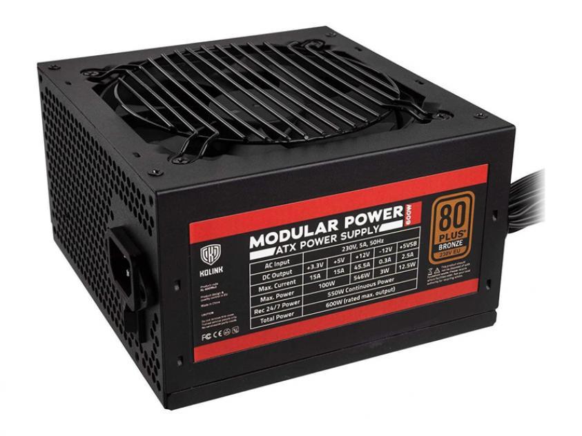 PSU Kolink Modular Power 600W (NEKL-039)