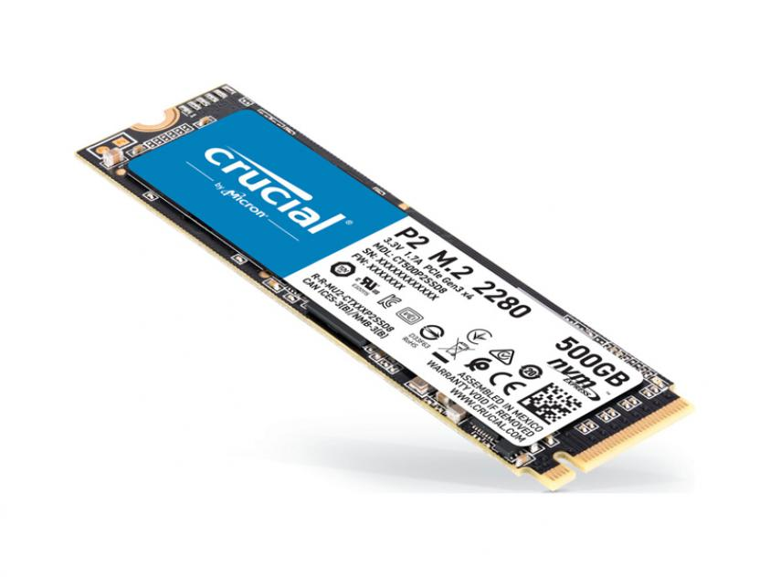 Internal SSD Crucial P2 500GB Μ.2 (CT500P2SSD8)