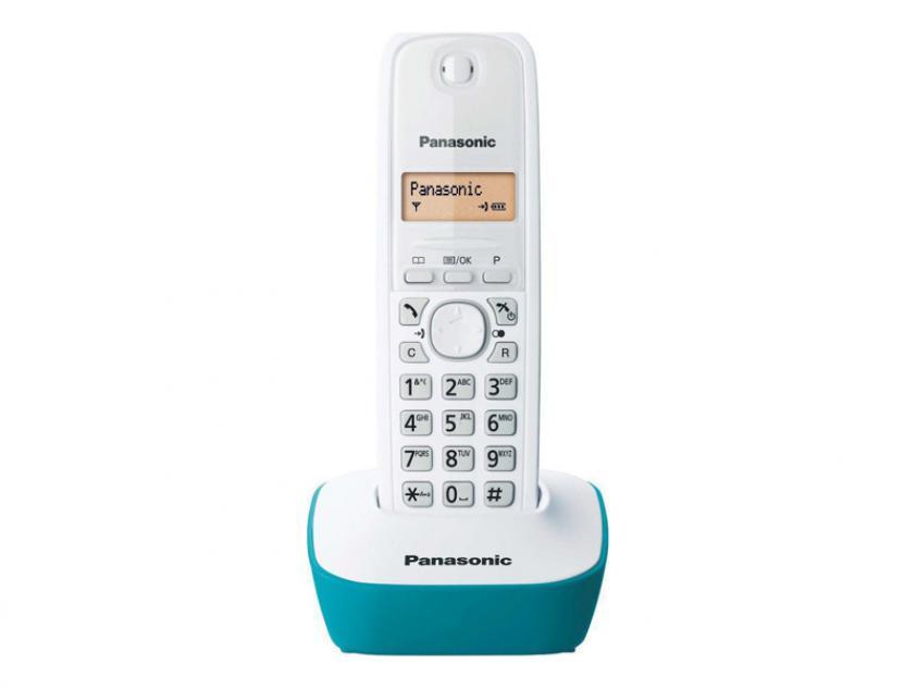 Cordless Phone Panasonic Γαλάζιο (KX-TG1611GRC)