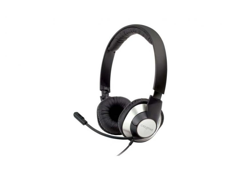 Headset Creative HS-720 Black (51EF0410AA004)