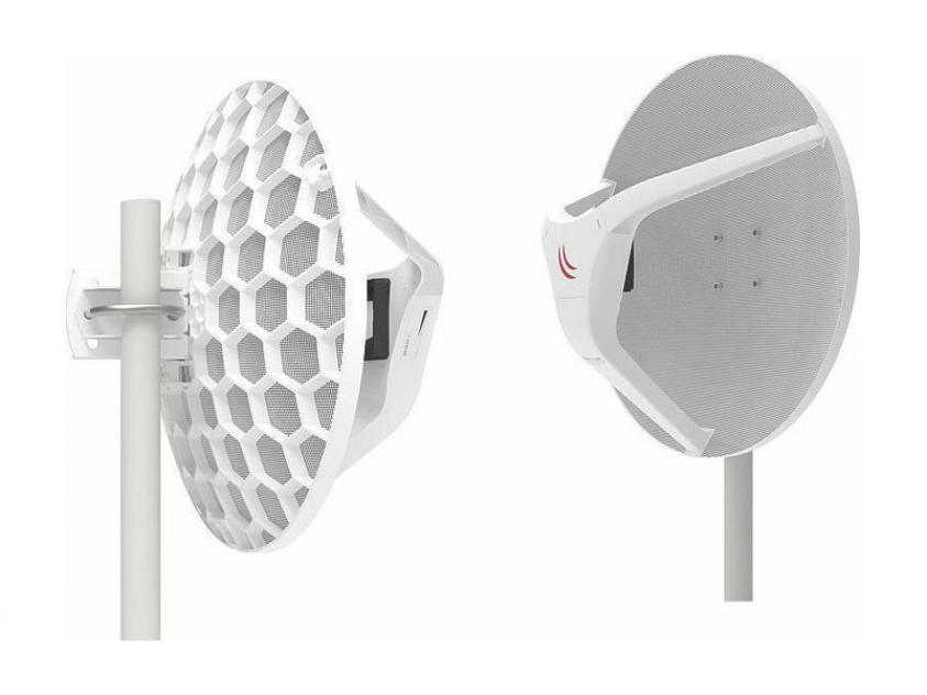Wireless Wire Dish Mikrotik RBLHGG-60ad-kitr2 2-Pack (RBLHGG-60ad-kitr2)