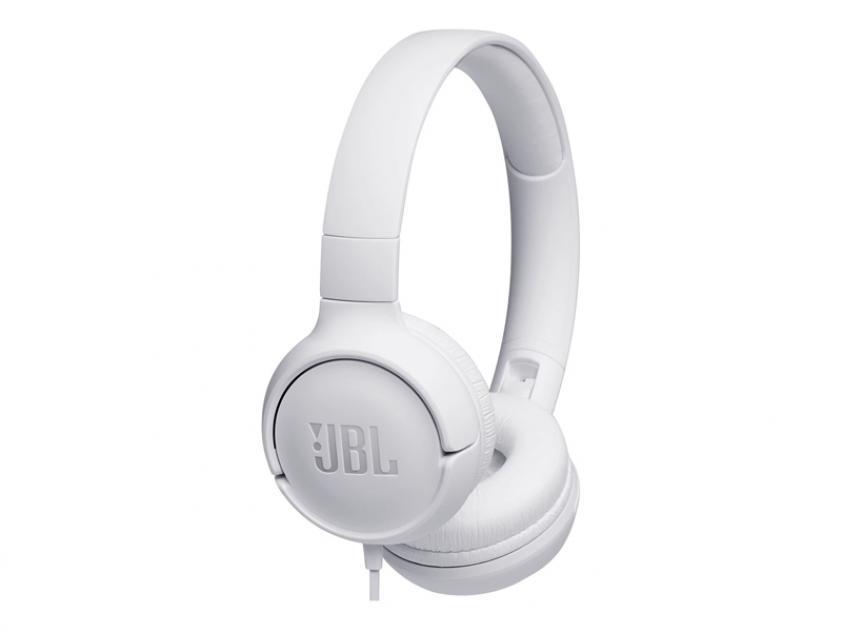 Headphones JBL Tune 500 White (JBLT500WHT)