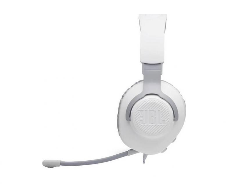 Gaming Headset JBL Quantum 100 White (JBLQUANTUM100WHT)