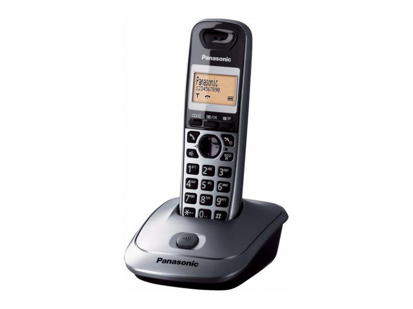 Cordless Phone Panasonic KX-TG2511GRM Metallic Gray (KX-TG2511GRM)