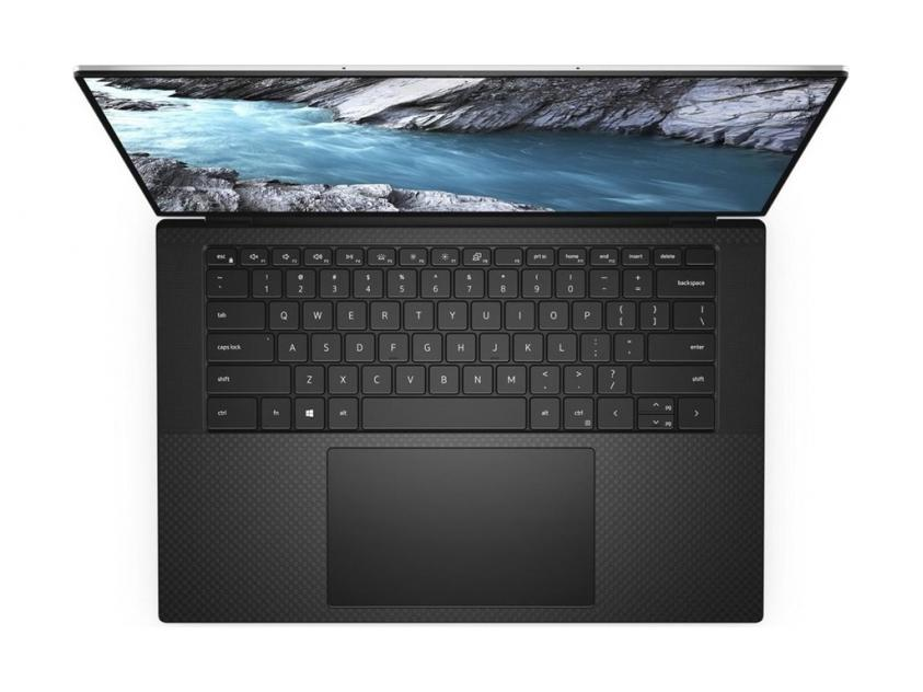Laptop Dell XPS 9500 15.6-inch i7-10750H/16GB/1TBSSD/GeForce GTX 1650/2Y/Black Silver (9500-4536)