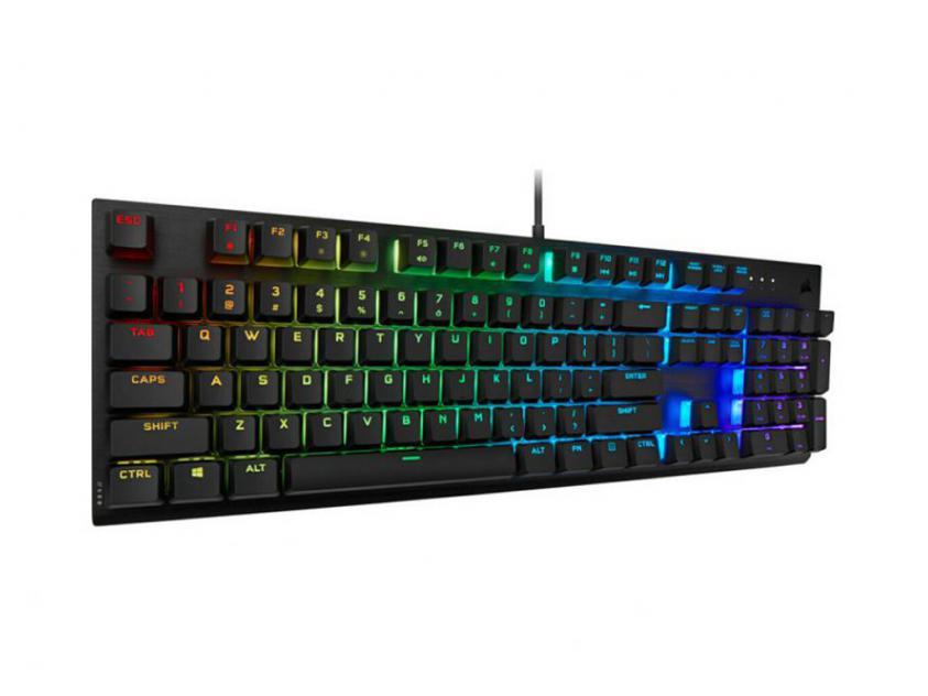Gaming Keyboard Corsair PRO RGB Cherry Viola GR Layout (CH-910D019-GR2)