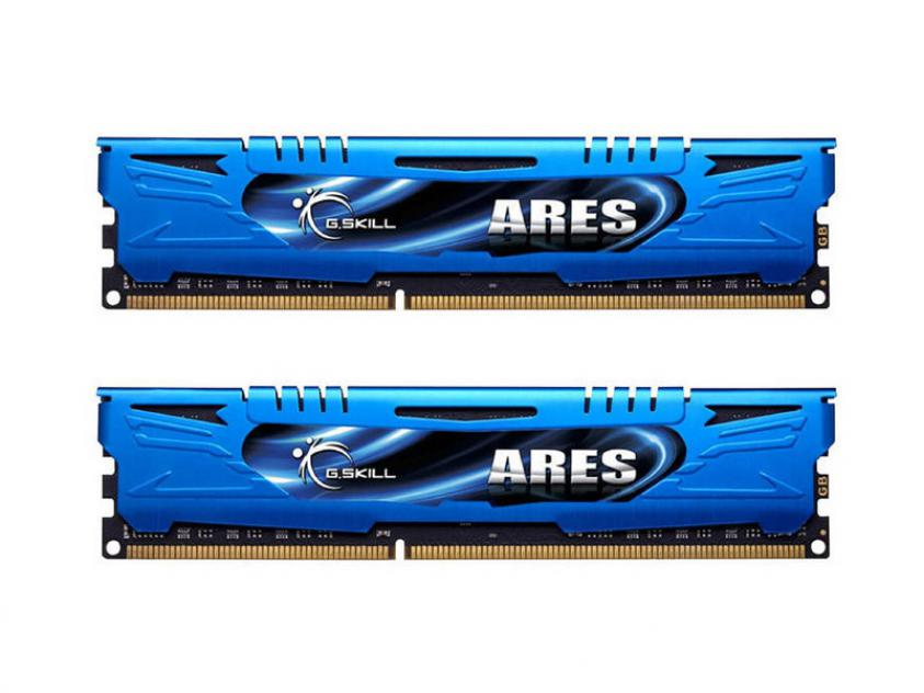 RAM G.Skill Ares 16GB DDR3 2133MHz CL10 Kit (F3-2133C10D-16GAB)