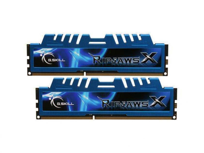 RAM G.Skill RipjawsX 16GB DDR3 2400MHz CL11 Kit (F3-2400C11D-16GXM)