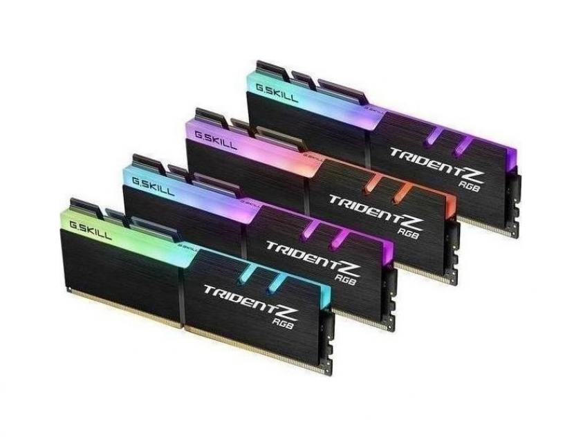 RAM G.Skill TridentZ RGB 32GB DDR4 3200MHz CL16 Kit (F4-3200C16Q-32GTZR)