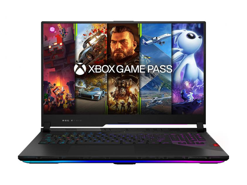 Gaming Laptop Asus ROG Strix SCAR G733QS-HG001T 17.3-inch R7-5800H/16GB/1TBSSD/GeForce RTX 3080/W10H/ (90NR0591-M02450)