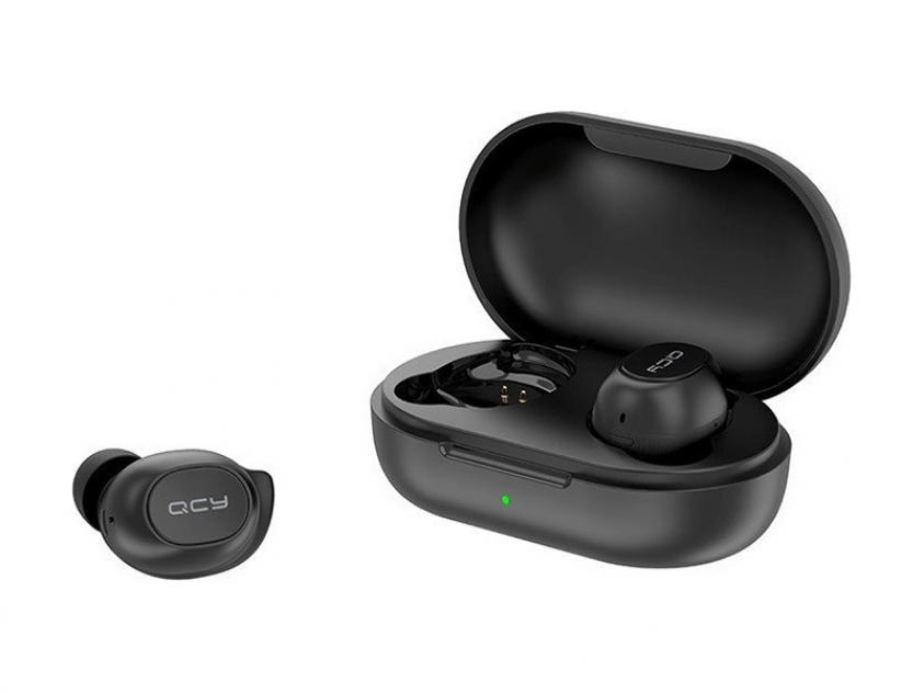 Earbuds QCY T9 Black (6957141405727)