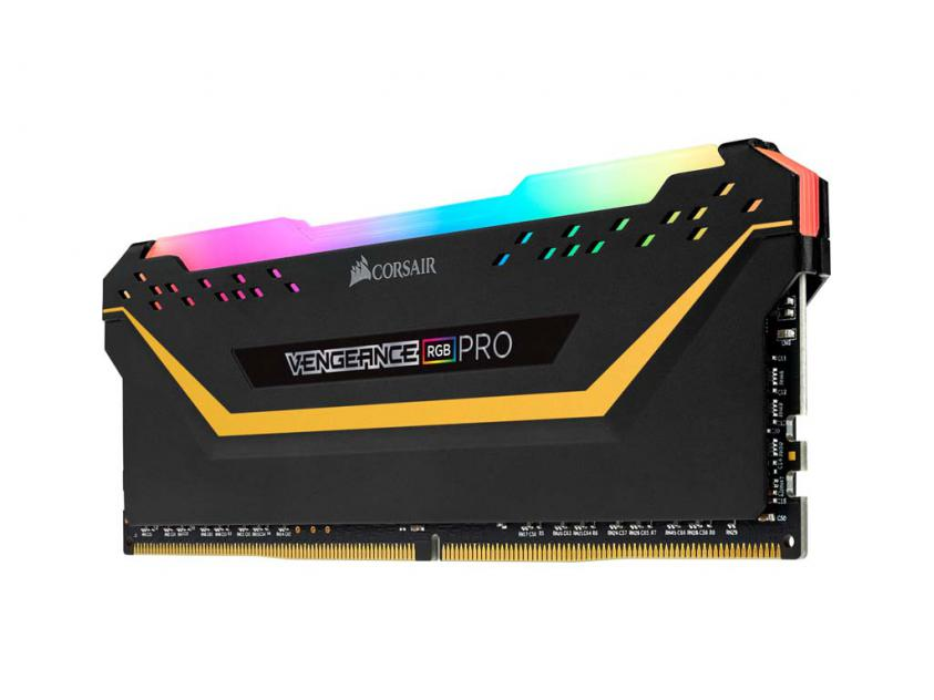 RAM Corsair Vengeance Black RGB Pro 32GB (2X16GB) DDR4 3600MHz C18 (CMW32GX4M2E3200C16-TUF)