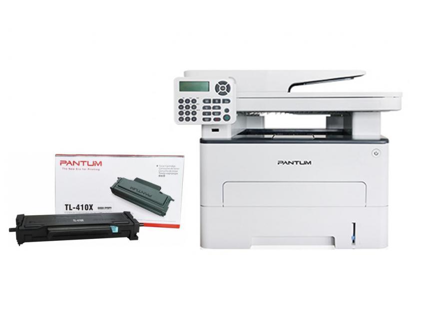 MFP Pantum Laser M6800FDW Mono + TONER TL-410X Black 6000Pgs