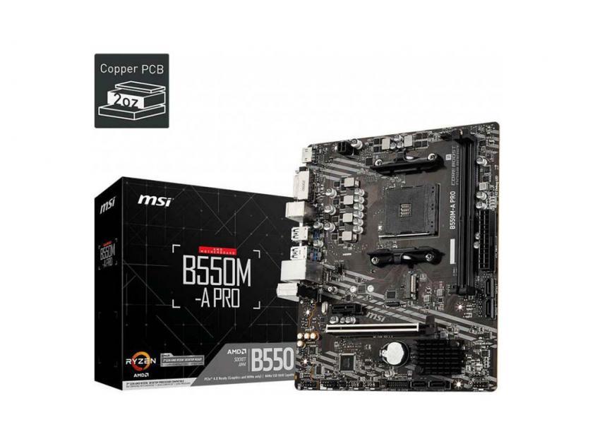 Motherboard MSI B550M-A Pro (7C96-006R)