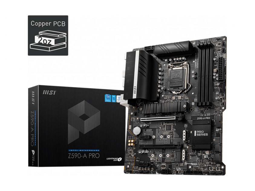 Motherboard MSI Z590-A Pro (7D09-003R)
