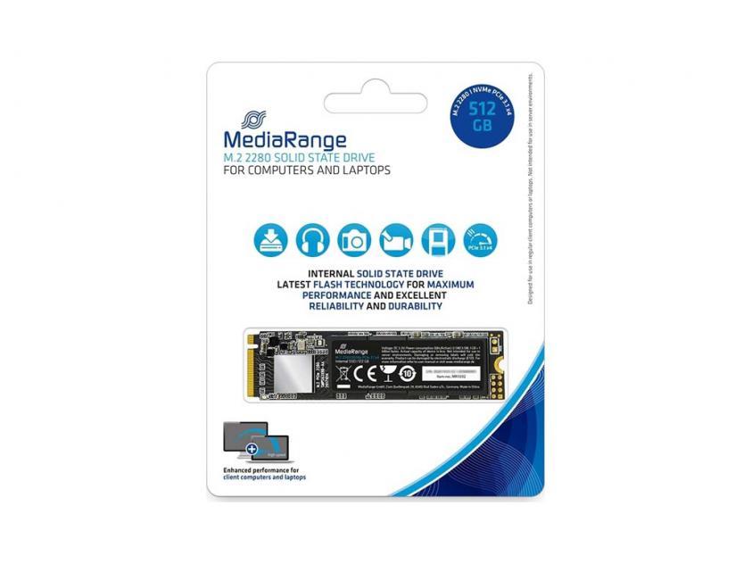 Internal SSD MediaRange MR1032 512GB M.2 (MR1032)