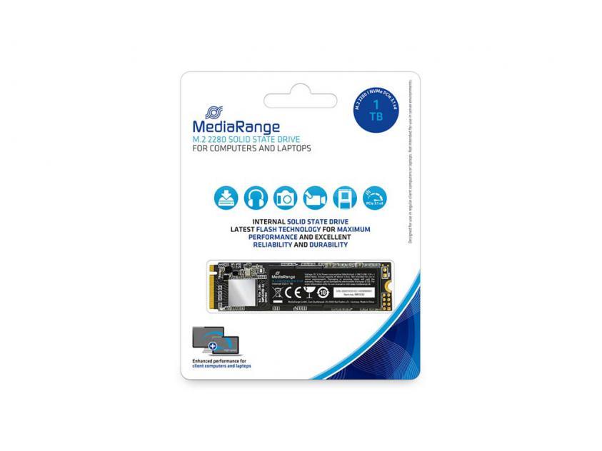 Internal SSD MediaRange MR1033 1TB M.2 (MR1033)