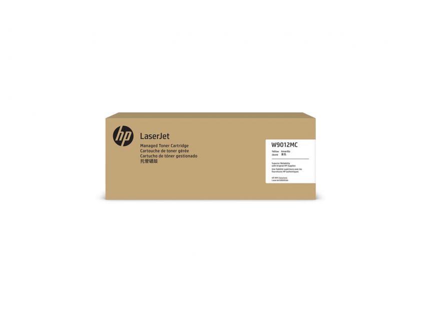 Toner HP W9012MC Yellow Managed 35000Pgs (W9012MC)