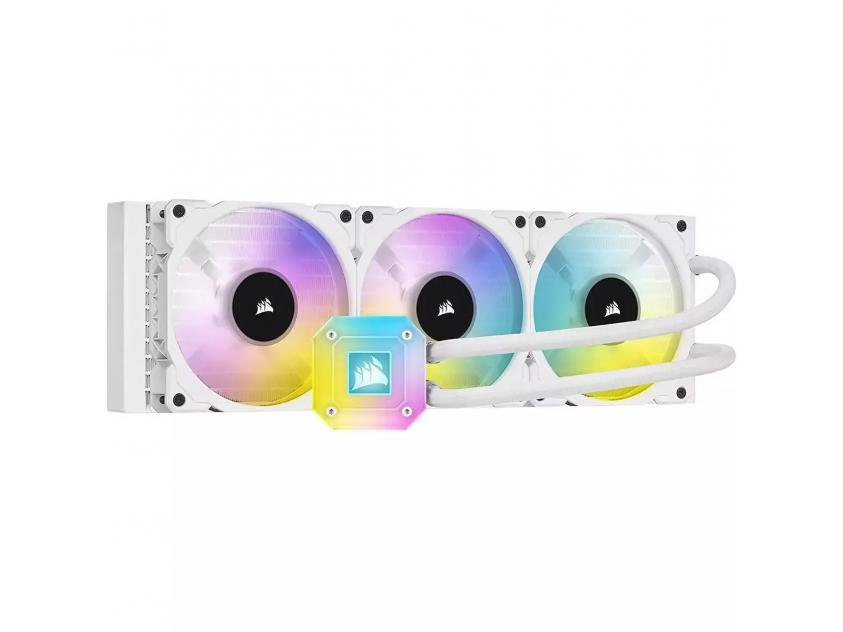 Liquid CPU Cooler Corsair iCUE H150i Elite Capellix White (CW-9060051-WW)