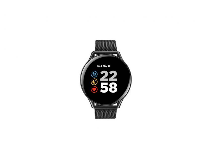 Smartwatch Canyon Lemongrass Smartwatch Metal Black (CNS-SW70BB)