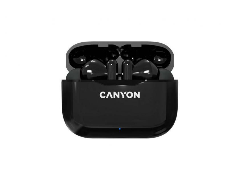 Earphones Canyon TWS 3 Black (CNE-CBTHS3B)