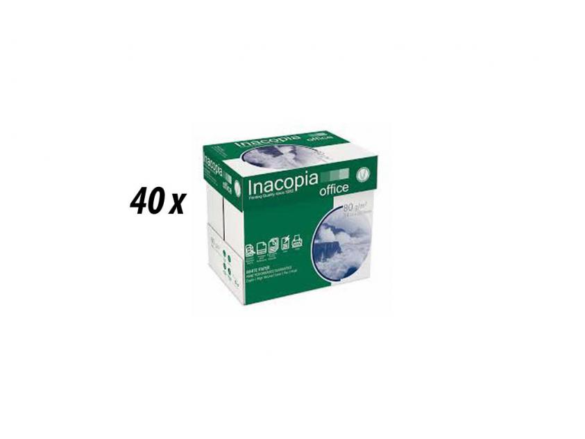 Paper  Inacopia Α4 80gr 40-Boxes (inacop40boxa4)