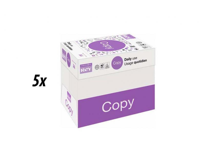 Paper Rey Copy Α4 80g 5 Boxes (rey5boxa4)