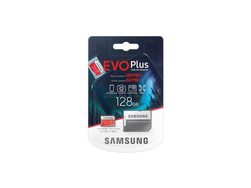 Memory Card Samsung Evo Plus microSDXC 128GB (MB-MC128HA/EU)