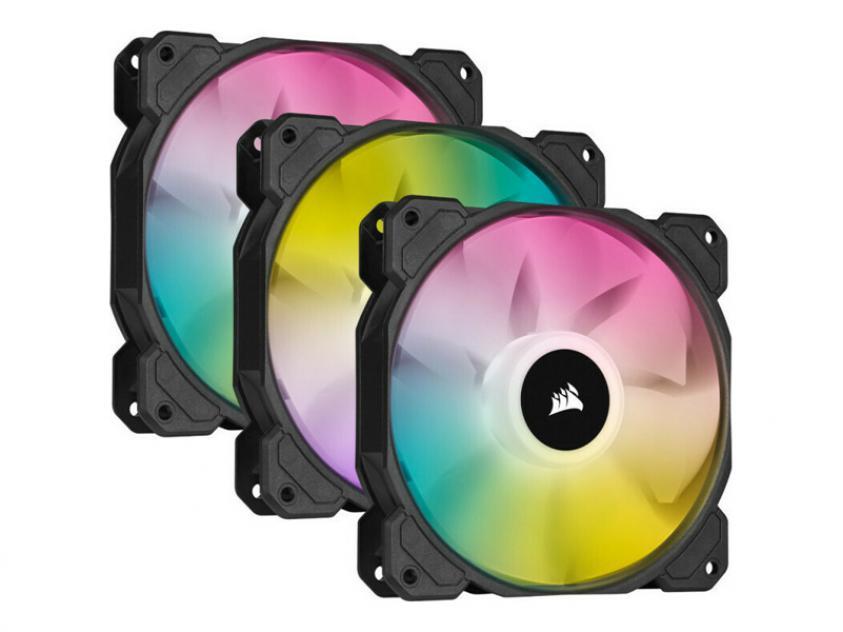 Case Fan Corsair iCUE SP120 120mm RGB 3-Pack (CO-9050109-WW)