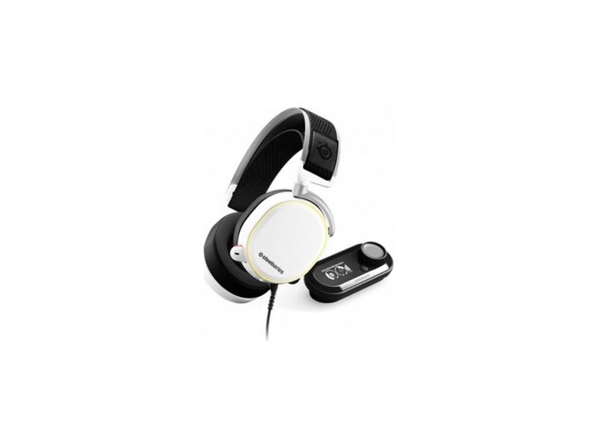 Gaming Headset SteelSeries Artics Pro Plus GameDAC White (61454)