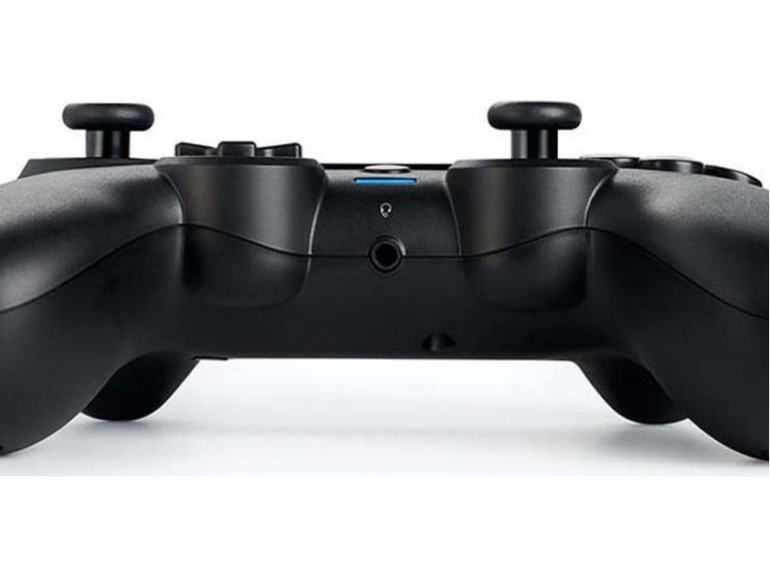 Controller Nacon Assymetric Black For PS4 (PS4OFPADWLBLACK)