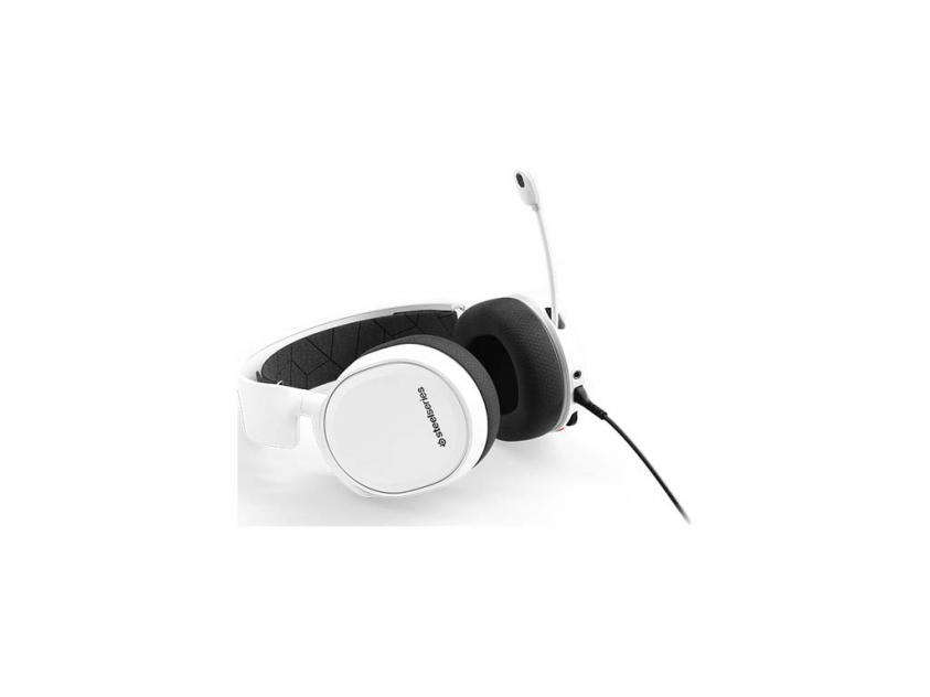 Gaming Headset SteelSeries Artics 3 2019 Edition White (61506)