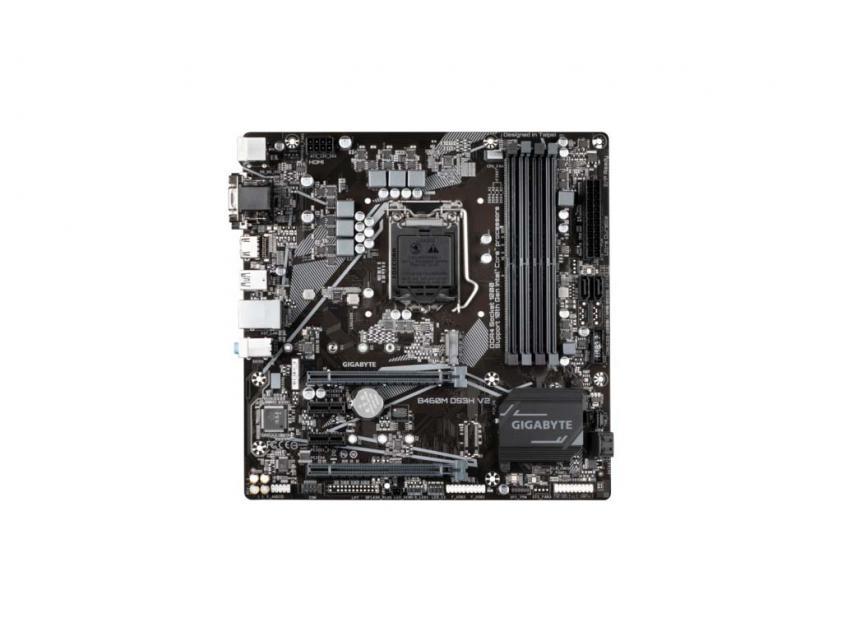 Motherboard Gigabyte B460M DS3H V2 Rev 1.0 (GAB46MS32-00-G)