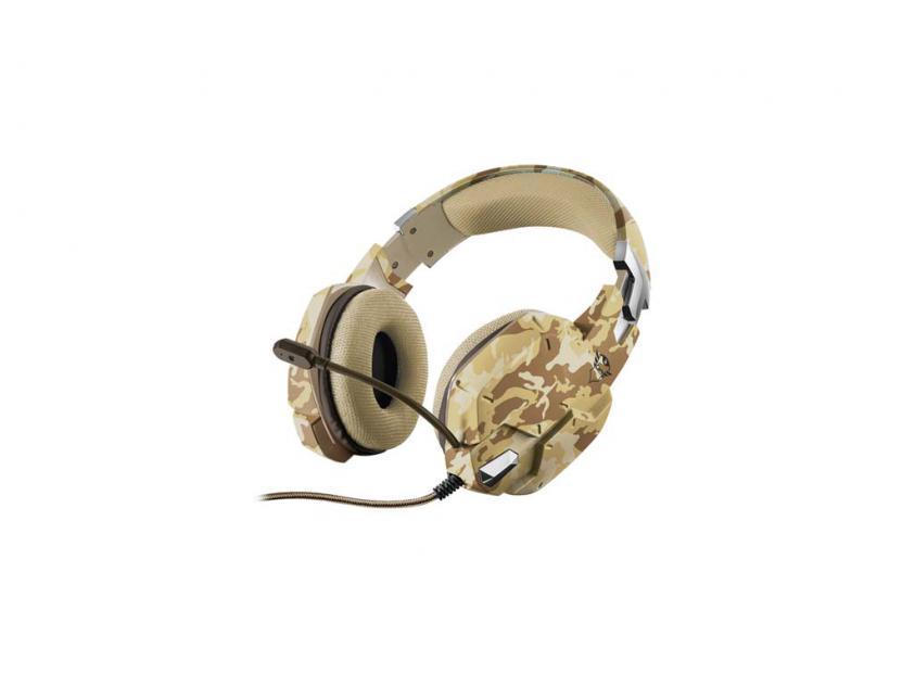 Gaming Headset Trust GXT 322D Carus Desert Camo (22125)