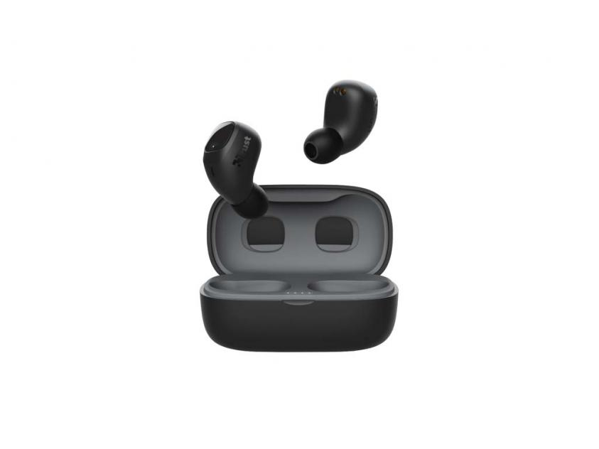 Earphones Trust Nika Compact Bluetooth Black (23555)