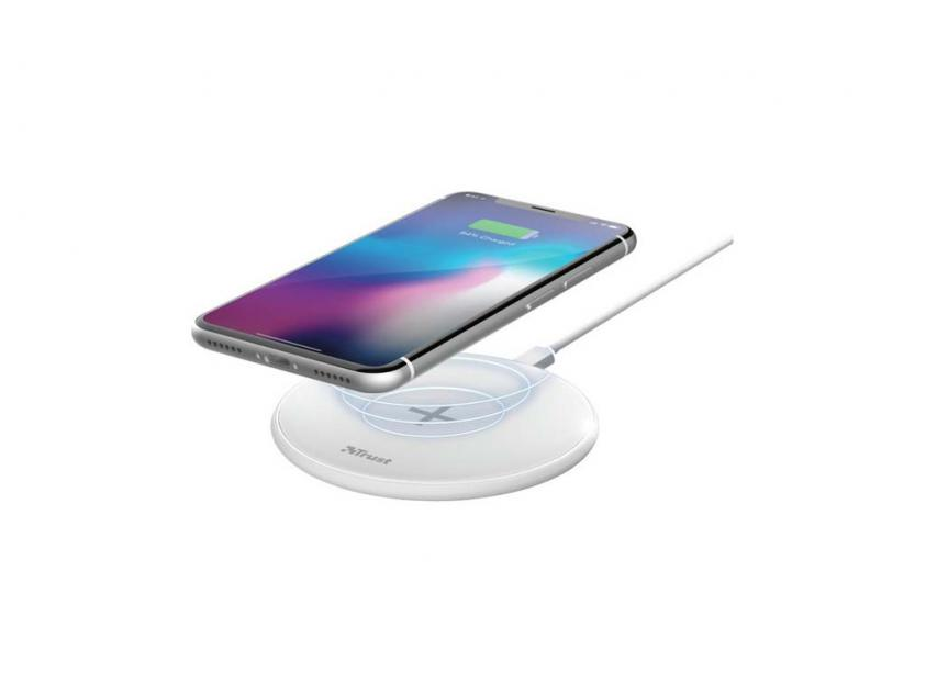 Wireless Charger Trust Qylo 7.5/10W White (23867)