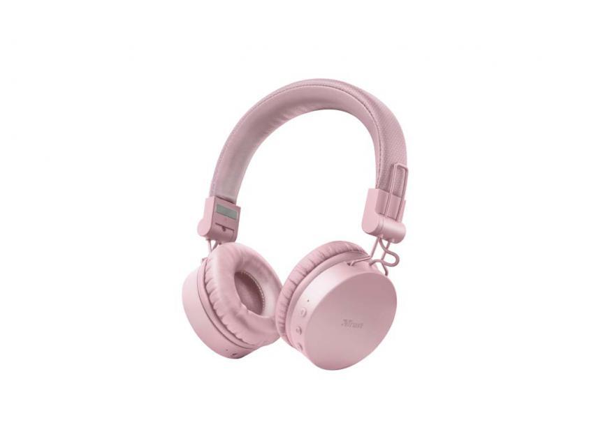 Headset Trust Tones Bluetooth Pink (23910)