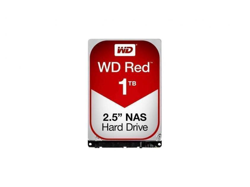 Internal HDD Western Digital Red Plus 1TB SATA III 2.5-inch (WD10JFCX)