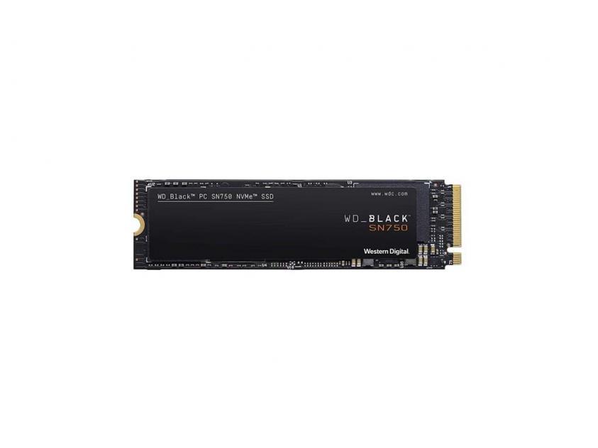 Internal SSD Western Digital Black SN750 1TB M.2 (WDS100T3X0C)