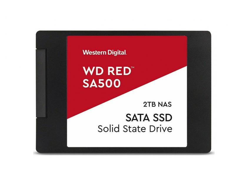 Internal SSD Western Digital SA500 Red 2TB 2.5-inch (WDS200T1R0A)