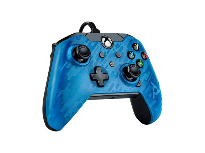 Controller PDP XΒΟΧ/PC Blue Camo Wired (049-012-EU-CMBL)