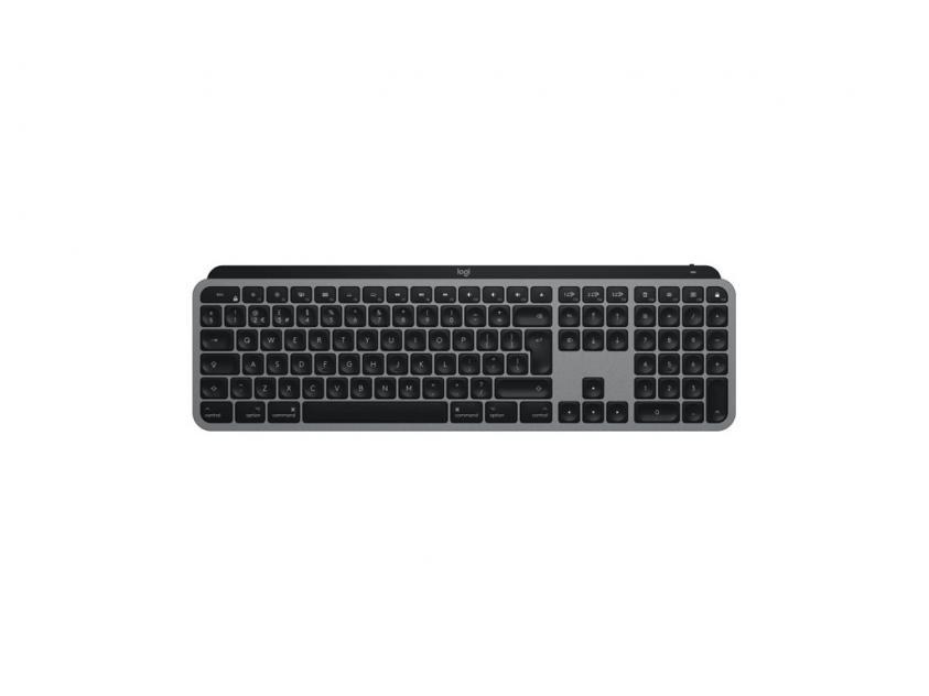 Keyboard Logitech MX-Keys For Mac Illm Grey Wireless US Layout (920-009558)