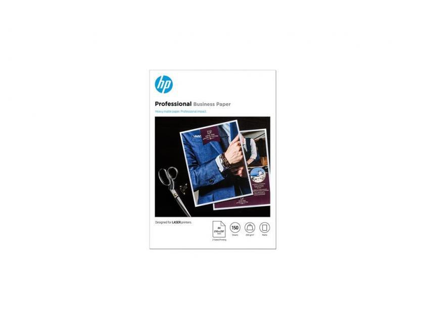Photo Paper HP Professional LaserJet Matte A4 200g 150-Sheets (7MV80A)