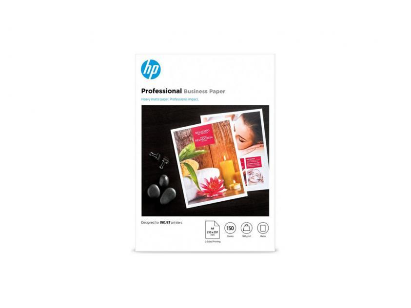 Photo Paper HP Professional LaserJet Matte A4 180g 150-Sheets (7MV79A)