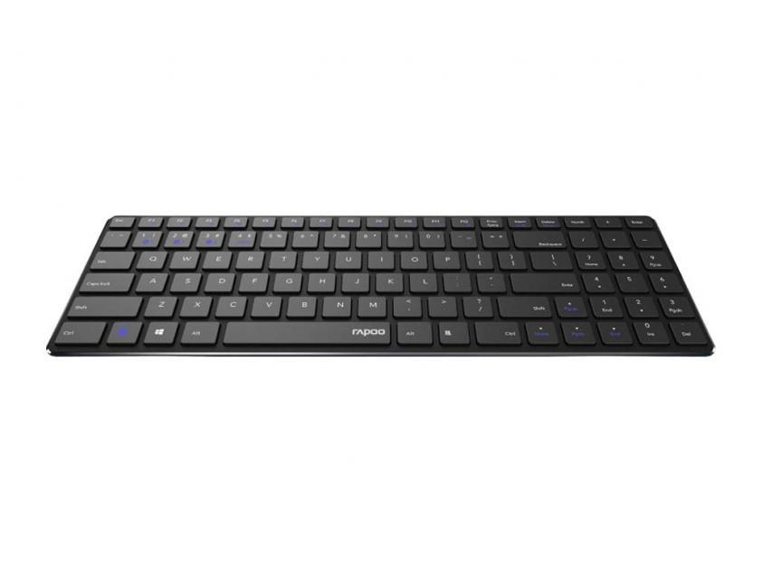 Keyboard/Mouse Rapoo 9300M Wireless Black GR Layout (19864)